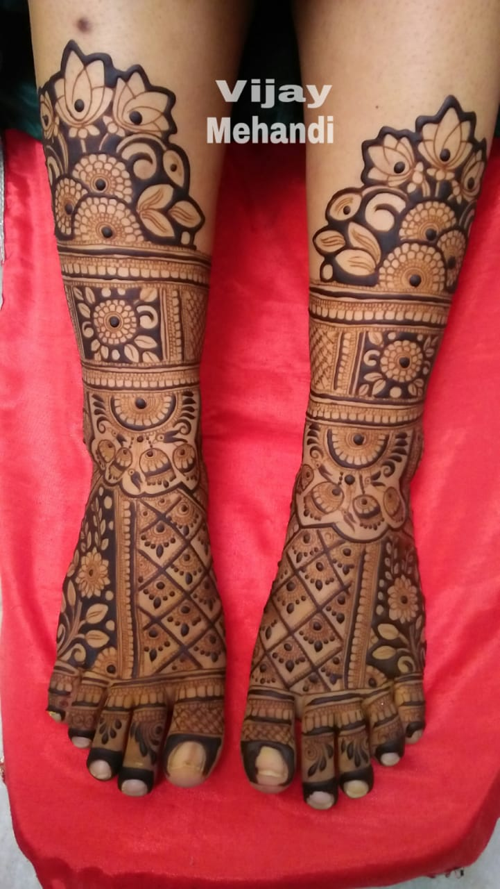 mehandi at home